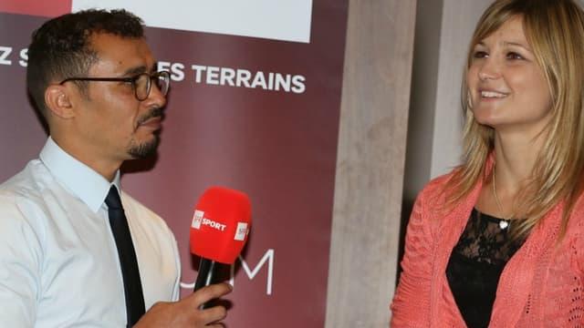 Brahim Asloum et Angélique Duchemin