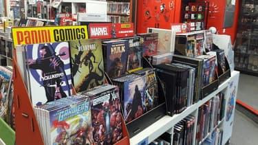 La boutique Central Comics située à Paris 12e , près de Cour Saint-Émilion