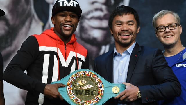 Floyd Mayweather et Manny Pacquiao