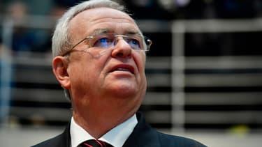 Martin Winterkorn, ex-dirigeant de Volkswagen.