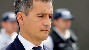 Gérald Darmanin le 7 juillet 2020 lors de son arrivée au ministère de l'Intérieur à Paris