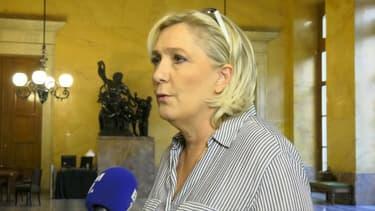 Marine Le Pen s'en prend à l'attitude de l'exécutif autour de l'affaire Benalla