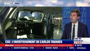 CO2: l'avertissement de Carlos Tavares