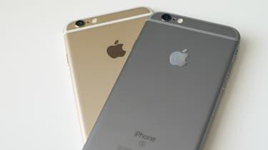 L'iPhone d'Apple.