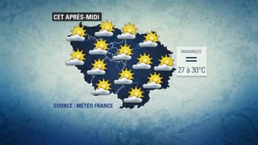 Le ciel sera voilé une partie de la journée en Ile-de-France.