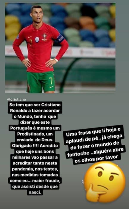 Le message de Katia Aveiro
