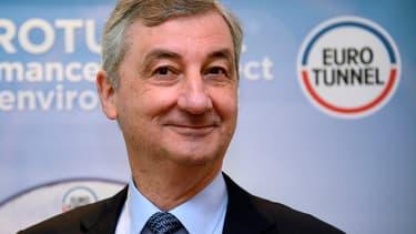 Jacques Gounon estime que l'impact du Brexit n'aura pas d'impact à long terme sur les activités d'Eurotunnel.