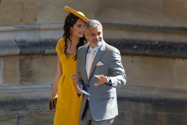 Le couple Clooney