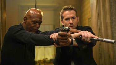 "Samuel L. Jackson et Ryan Reynolds dans ""Hitman & Bodyguard"", en salles le 23 août 2017"