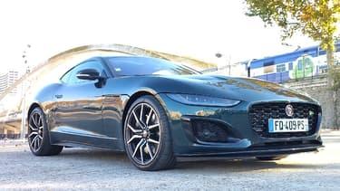 La version R, c'est la version la plus sportive de la Jaguar F-Type.