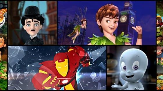 DQ Entertainement, le Disney indien, a produit les séries animées de Casper le gentil fantôme, du Livre de la Jungle ou encore de Peter Pan.