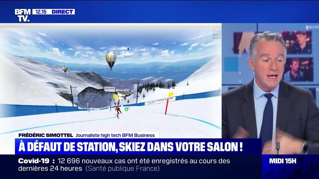 A défaut de station, skiez depuis votre salon ! - 04/12