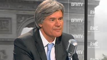 Stéphane Le Foll, ce lundi sur RMC/BFMTV