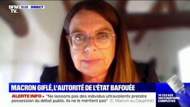 """""""Tout s'est passé très vite"""": Mireille Clapot, députée LaREM de la Drôme, raconte le moment où Emmanuel Macron a été giflé"""