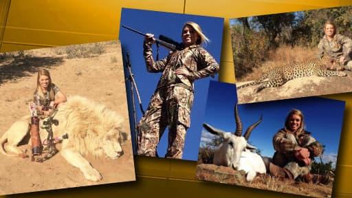 Sur Facebook, Kendall Jones expose fièrement ses trophées de chasse.