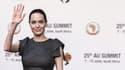Angelina Jolie, ce vendredi 12 juin à Johannesburg