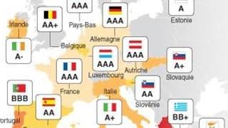 LES NOTES DE CRÉDIT DES PAYS DE LA ZONE EURO