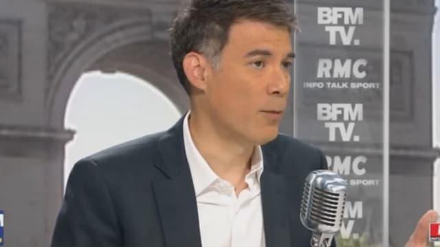 Olivier Ferrand, président du groupe PS à l'Assemblée nationale