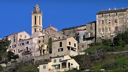 Le village de Borgo, en Corse, où le jeune Andy est incarcéré depuis trois ans.