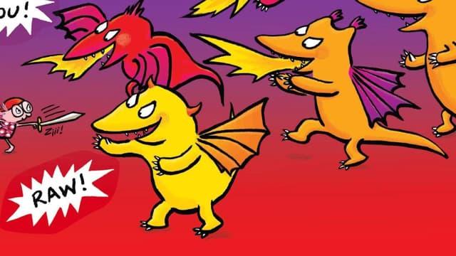 """""""Dragon Chéri"""" dIsabelle Bonameau"""