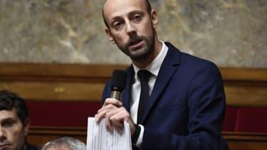 Stanislas Guerini lors des questions au gouvernement à l'Assemblée nationale le 24 octobre 2018.