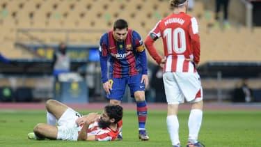Lionel Messi contre Bilbao