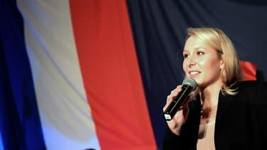 Marion Maréchal-Le Pen dimanche 6 décembre au soir du premier tour des élections régionales
