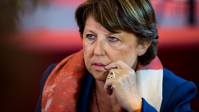 Martine Aubry va quitter la direction du PS avec ses soutiens.