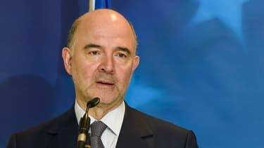 """Pierre Moscovici estime qu'abaisser le fiscalité des entreprises en dessous de 15% n'est """"pas une bonne solution""""."""