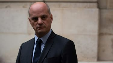 Le ministre de l'Education Jean-Michel Blanquer, le 17 octobre 2020 à Paris