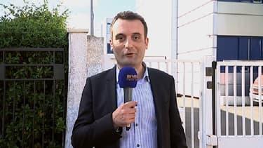 Florian Philippot, vice-président du Front national, vendredi 12 juin sur BFMTV.