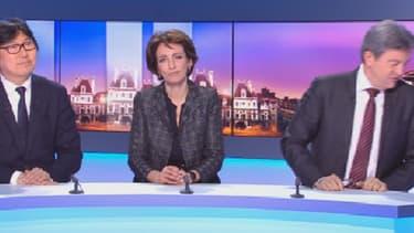 """""""Allez, au revoir!"""" Jean-Luc Mélenchon a quitté précipitamment le plateau de TF1 dimanche soir."""