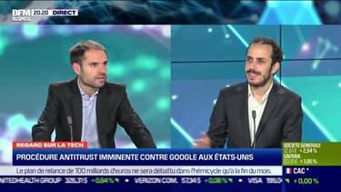 Jérôme Marin (cafetech.fr): Procédure antitrust imminente contre Google aux Etats-Unis - 20/10