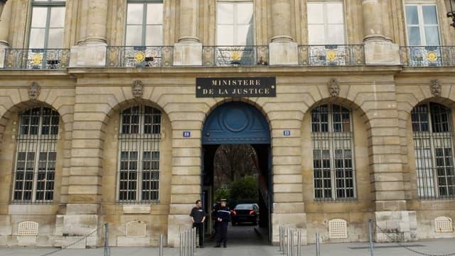 Le ministère de la Justice à Paris