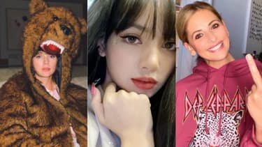Lisa de Blackpink, Taylor Swift et Sarah Michelle Gellar