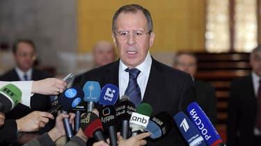 """Le ministre russe des Affaires étrangères, Sergueï Lavrov, a déclaré mardi à l'issue d'un entretien avec le président Bachar al Assad que celui-ci était """"totalement déterminé"""" à mettre fin aux violences commises par toutes les parties engagées dans le con"""