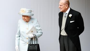 La Reine Elizabeth II et la prince Philip