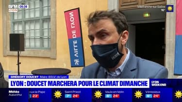 Lyon: le maire Grégory Doucet marchera pour le climat ce dimanche
