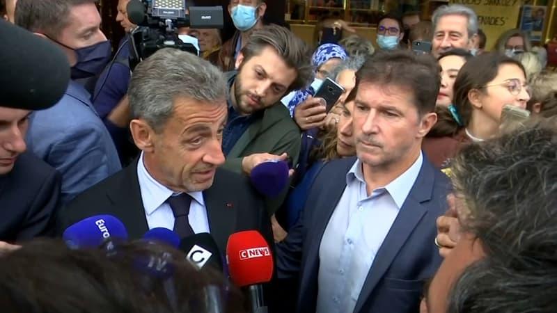 Crise de sous-marins: Nicolas Sarkozy apporte son soutien à Emmanuel Macron