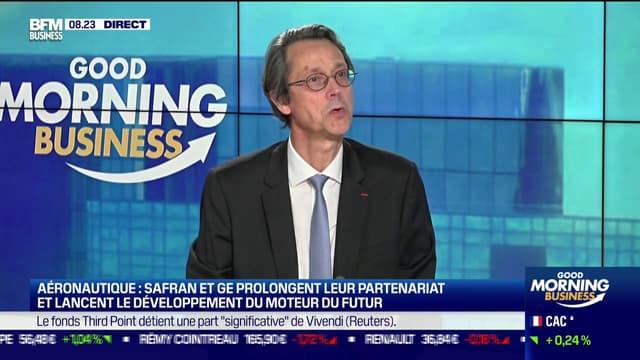 Olivier Andriès, directeur général de Safran.