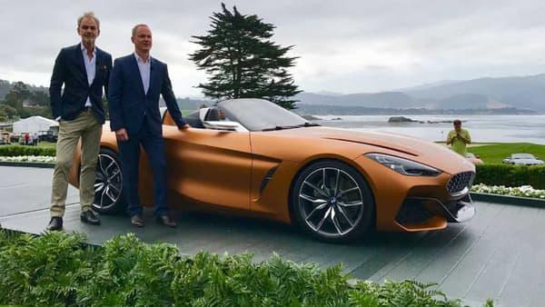Le BMW Concept Z4, qui annonce l'arrivée de la nouvelle version de série du Z4 l'année prochaine.