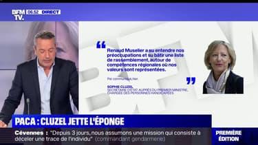 """Régionales en PACA: Sophie Cluzel ne présentera pas de liste LaREM et apporte son """"soutien"""" à Renaud Muselier"""