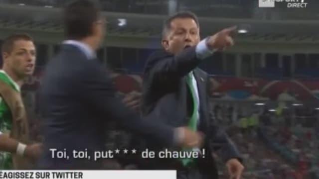 Juan Carlos Osorio s'en est pris à l'adjoint néo-zélandais.