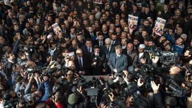 Plusieurs dizaines de personnes ont célébré vendredi à Istanbul une prière funéraire pour le journaliste saoudien Jamal Khashoggi.