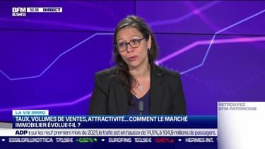 Cécile Roquelaure (Empruntis) : Comment le marché de l'immobilier évolue-t-il ? - 22/10