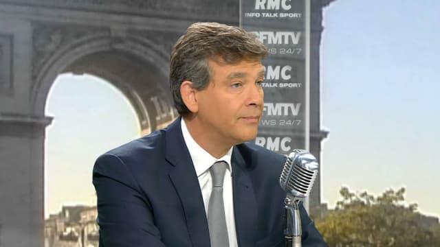 Arnaud Montebourg était l'invité de BMTV-RMC, ce mardi