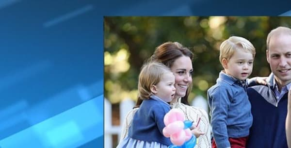 William, Kate, George et Charlotte, en visite au Canada.