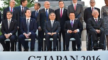 Les ministres des Finances du G7, parmi lesquels Michel Sapin ou Wolfgang Schaüble, sont réunis au Japon.