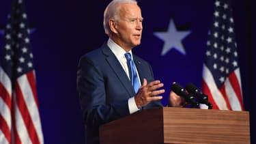 Joe Biden à Wilmington (Delaware), le 7 novembre 2020.
