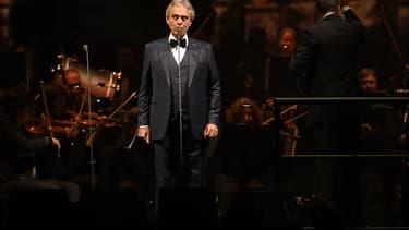 Andrea Bocelli en décembre 2017